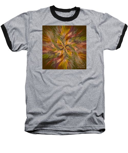 Baseball T-Shirt featuring the photograph Mandala Twirl 05 by Jack Torcello
