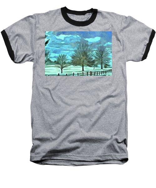 Baseball T-Shirt featuring the mixed media Mandisa by Trish Tritz
