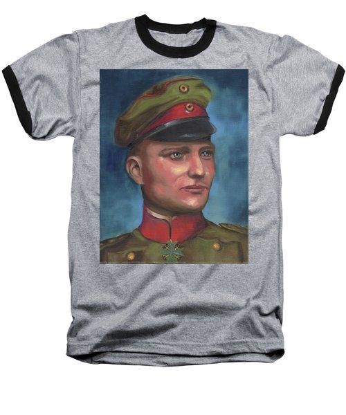 Manfred Von Richthofen The Red Baron Baseball T-Shirt