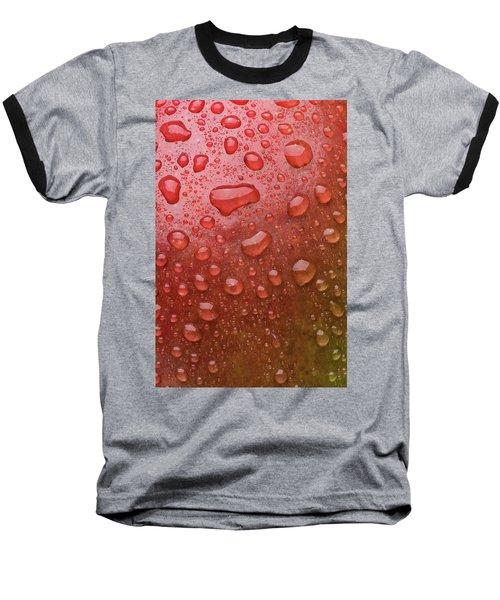 Mango Skin Baseball T-Shirt by Steve Gadomski