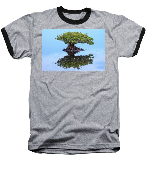 Mangrove Reflection Baseball T-Shirt