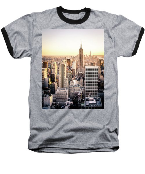 Manhattan Baseball T-Shirt by Michael Weber