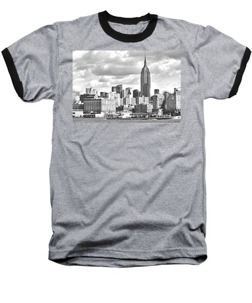 Manhattan Skyline No. 7-2 Baseball T-Shirt