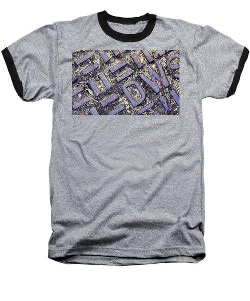 Manhole Cover Baseball T-Shirt