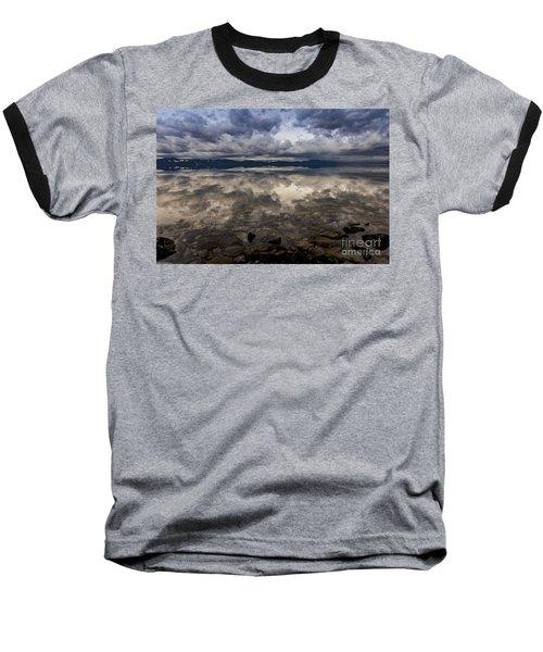Manifestation  Baseball T-Shirt by Mitch Shindelbower