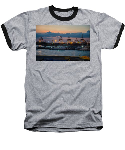 Manila Port Baseball T-Shirt