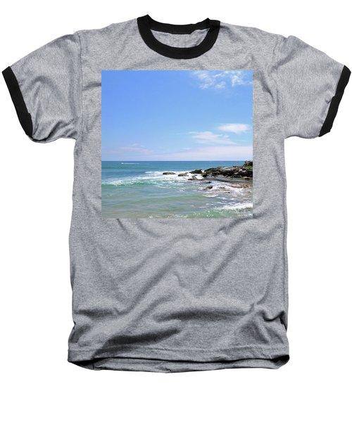 Manly Beach No. 267 Baseball T-Shirt