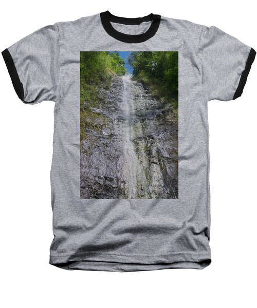 Manoa Falls Baseball T-Shirt