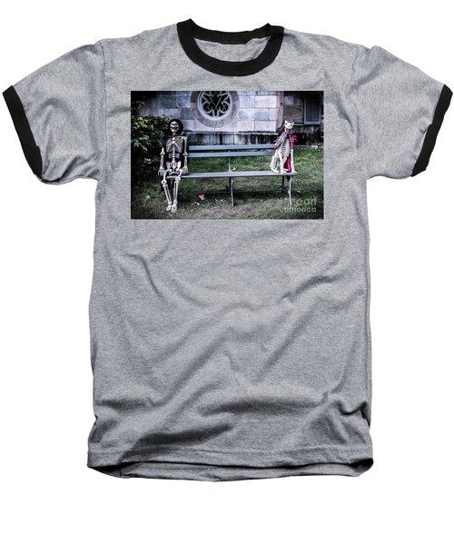 Man's Best Friend Till The End Baseball T-Shirt