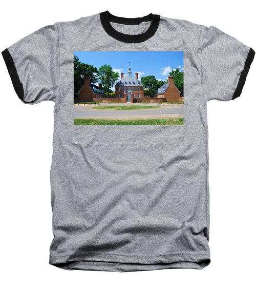 Mansion Baseball T-Shirt by Eric Liller