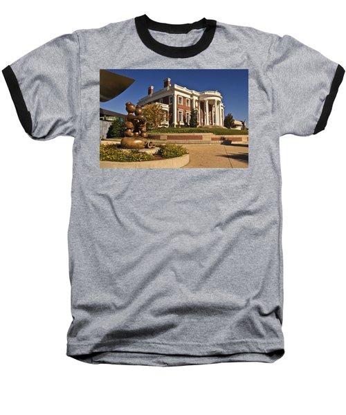 Mansion Hunter Museum Baseball T-Shirt