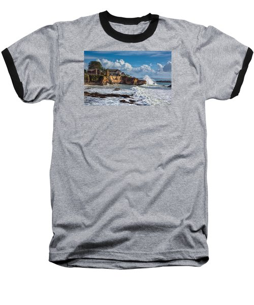 Mansion On The Cliffs Baseball T-Shirt
