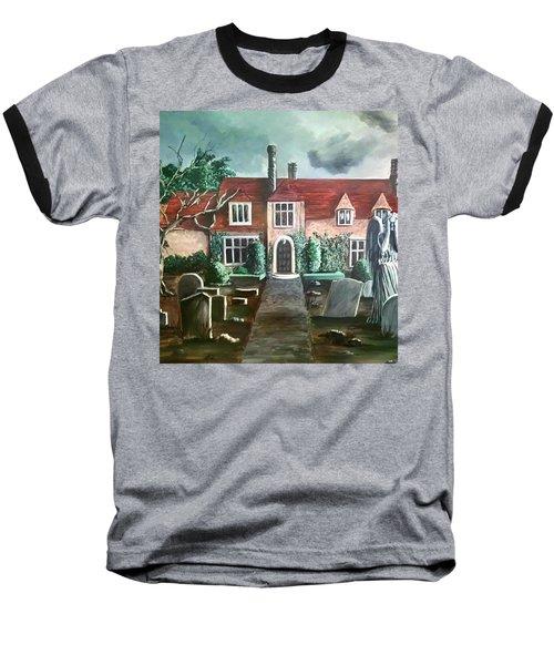 Mansion Baseball T-Shirt by Persephone Artworks