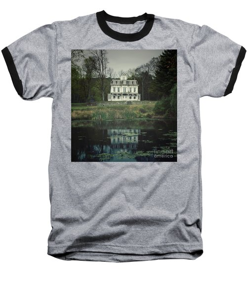 Mansion Reflected At Waterloo Baseball T-Shirt