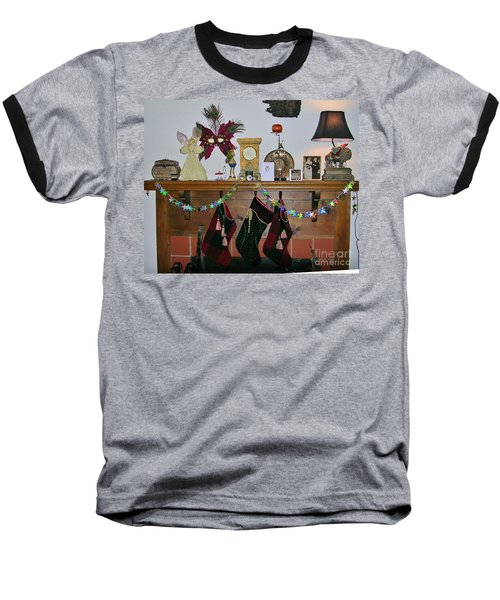 Mantel With Mask Baseball T-Shirt