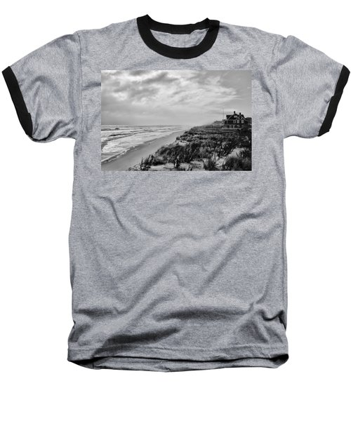 Mantoloking Beach - Jersey Shore Baseball T-Shirt