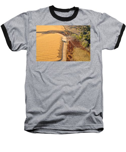 Many Acres To Harvest Baseball T-Shirt
