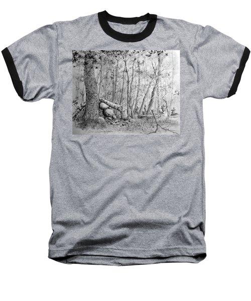 Many Balanced Rosks Baseball T-Shirt