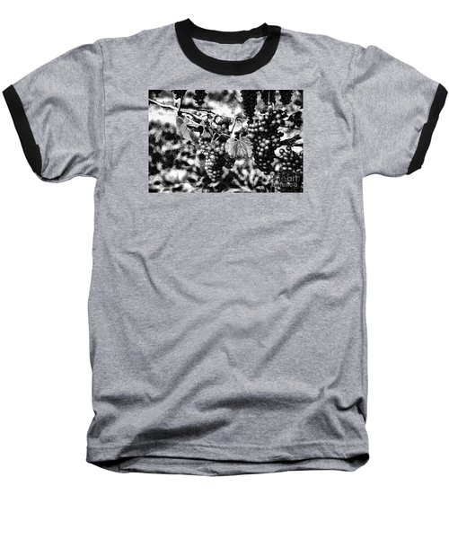 Baseball T-Shirt featuring the photograph Many Grapes by Rick Bragan