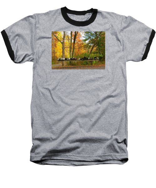 Baseball T-Shirt featuring the photograph Many Shapes And Sizes by Jeanette Oberholtzer