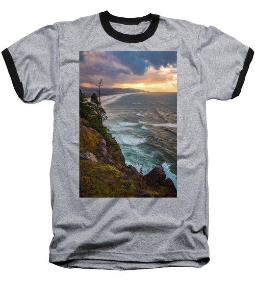 Baseball T-Shirt featuring the photograph Manzanita Sun by Darren White