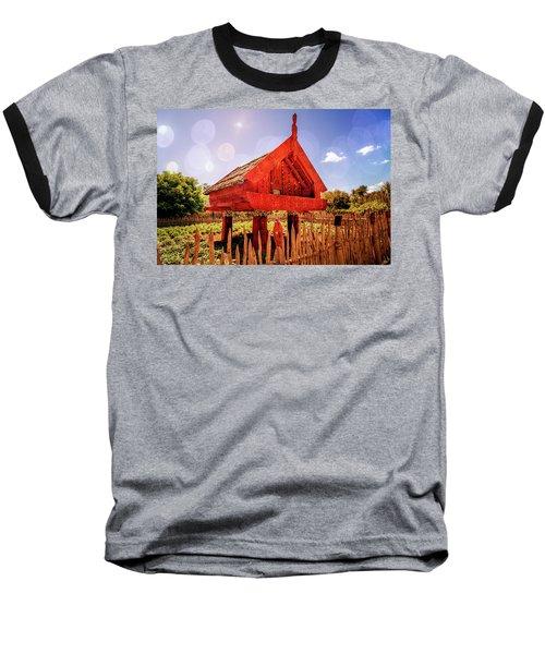 Maori Gathering Place Baseball T-Shirt