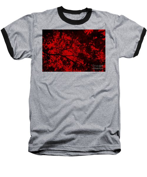 Baseball T-Shirt featuring the photograph Maple Dance In Red Velvet by Paul Cammarata