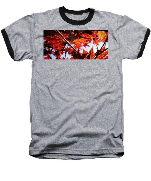 Maple Fire Baseball T-Shirt