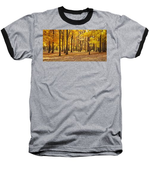 Baseball T-Shirt featuring the photograph Maple Glory by Francesa Miller