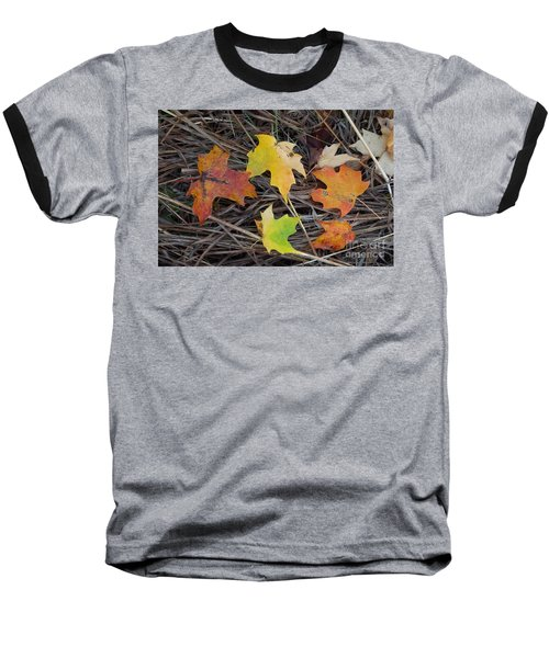 Maple Leafs Baseball T-Shirt by Gerald Strine