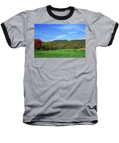 Maple Red Baseball T-Shirt
