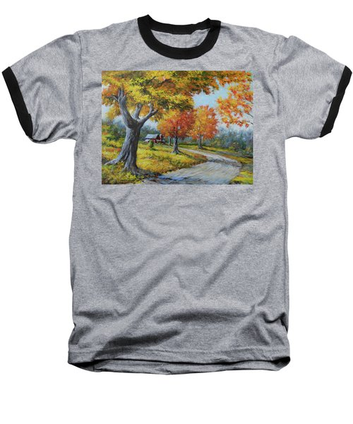 Maple Road Baseball T-Shirt