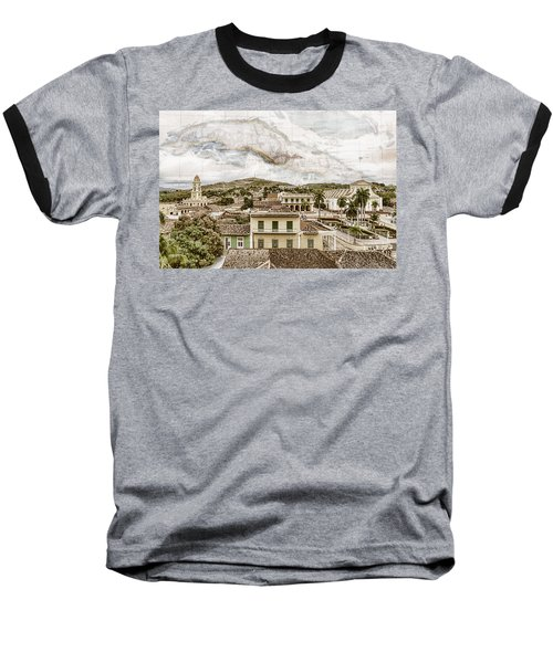 Mapping Trinidad Baseball T-Shirt
