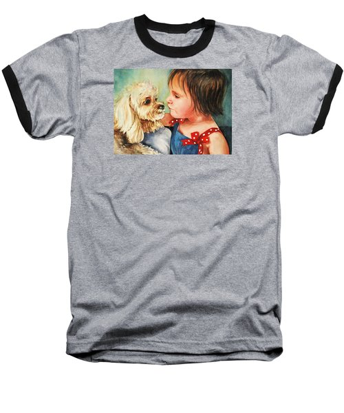 Mara Meets Mocha Baseball T-Shirt