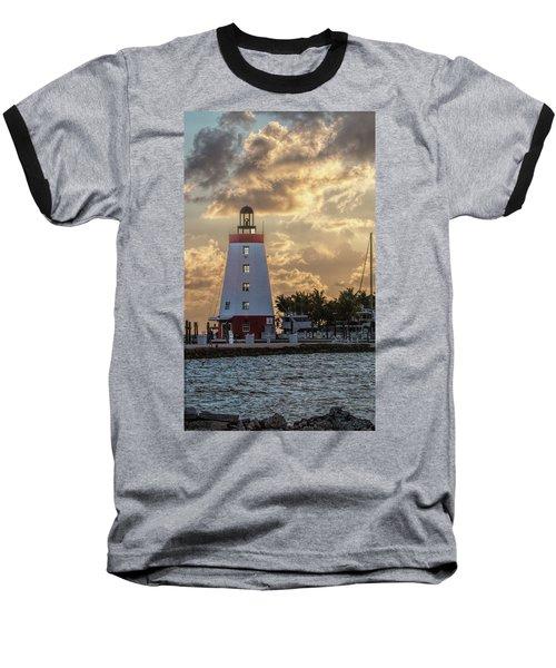 Marathon Light House Baseball T-Shirt