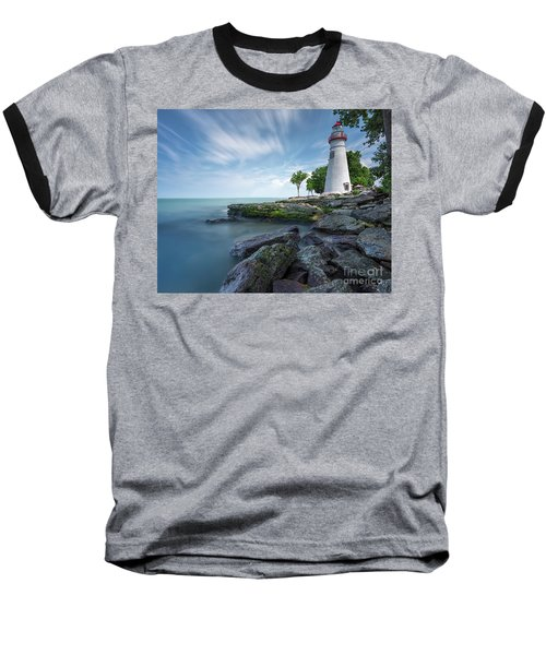 Marblehead Breeze Baseball T-Shirt by James Dean