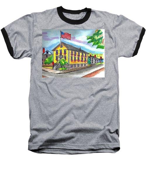 Marblehead Icon Baseball T-Shirt by Paul Meinerth
