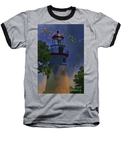 Marblehead In Starlight Baseball T-Shirt