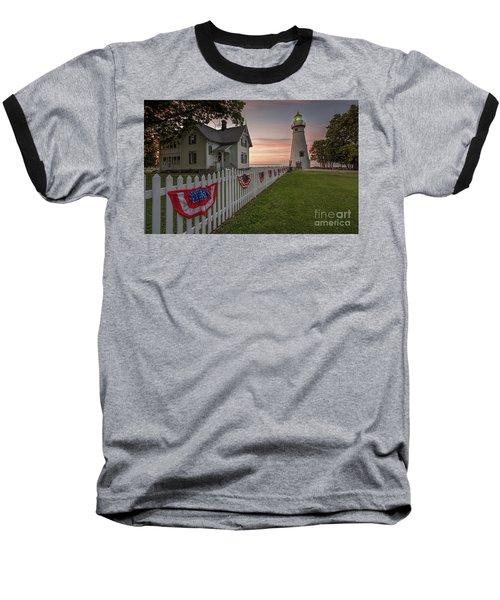 Marblehead Memorial  Baseball T-Shirt by James Dean