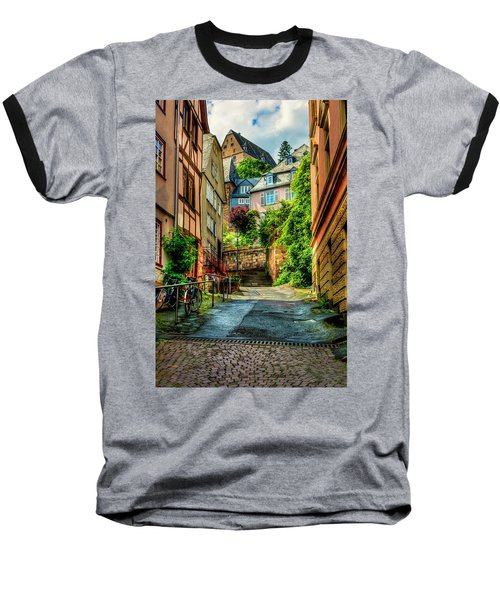 Baseball T-Shirt featuring the photograph Marburg Alley by David Morefield