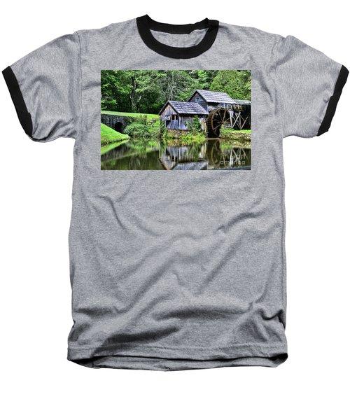Marby Mill 3 Baseball T-Shirt by Paul Ward