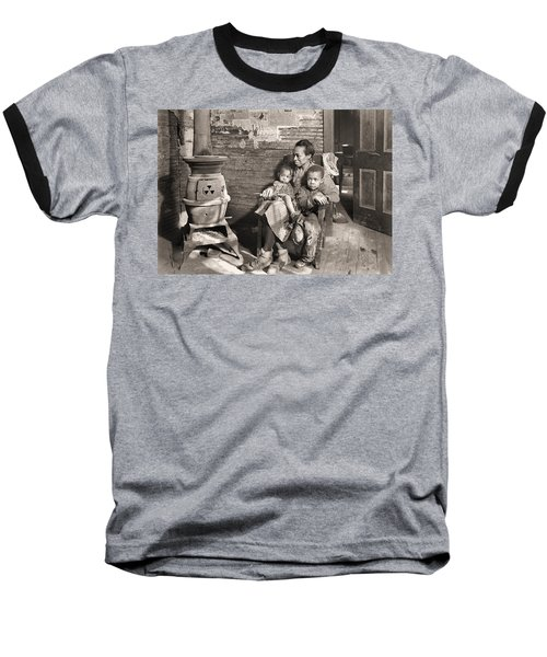 March 1937 Scott's Run, West Virginia Johnson Family. Baseball T-Shirt