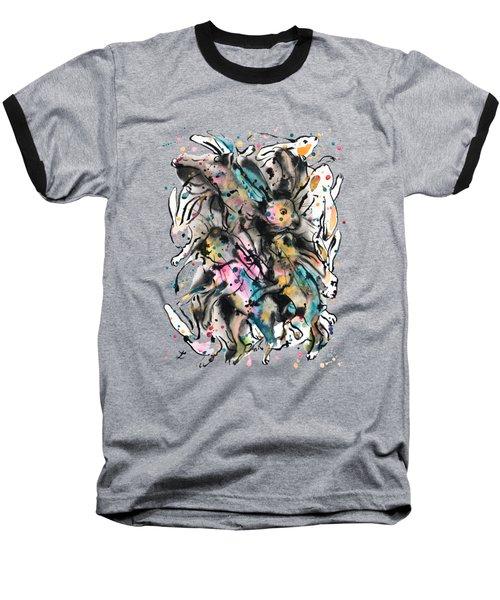 March Hares Baseball T-Shirt