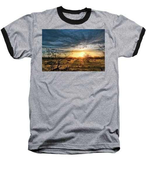 March Sunrise Baseball T-Shirt