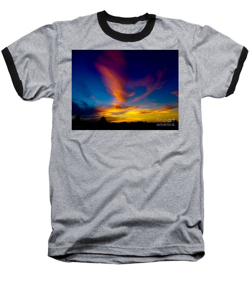 Sunset March 31, 2018 Baseball T-Shirt