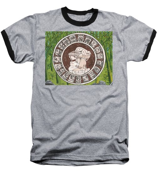 March  The Mayan Calendar Baseball T-Shirt