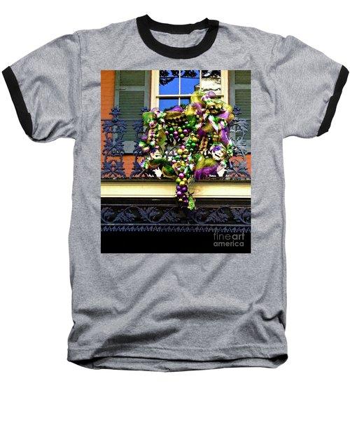 Mardi Gras Decor 1 Baseball T-Shirt