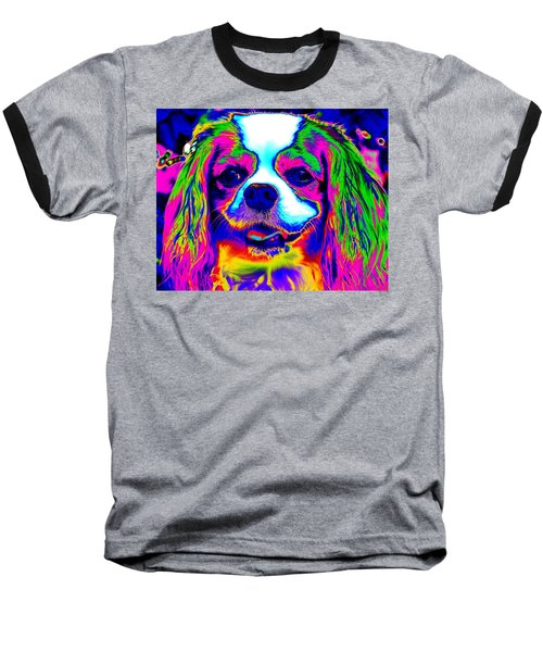 Mardi Gras Dog Baseball T-Shirt