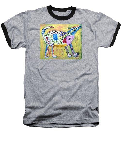 Mardi Gras Baseball T-Shirt by Lynda Cookson