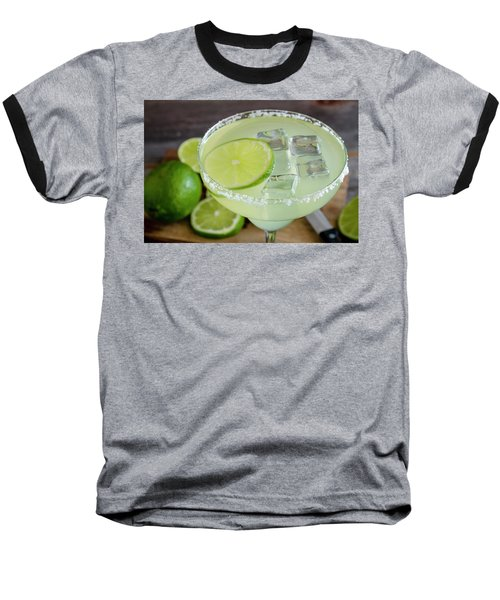 Baseball T-Shirt featuring the photograph Margarita Close Up by Teri Virbickis